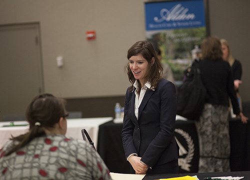 networking job search photo